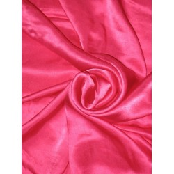 "Oh my love Pink colour silk satin fabric ~44"" width"