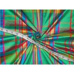 Silk Dupioni Plaids - Multi Color 54""