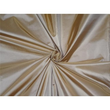 """100% Silk Taffeta Fabric Marie gold Biscuit Color 54"""" wide sold by the yard"""
