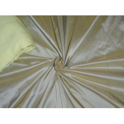 "100% pure silk taffeta fabric blue x yellow 54""wide- 40 mm weight  / TAF#272"