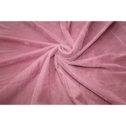 "Micro Velvet Fabric 44"" wide  DUSTY ROSE"