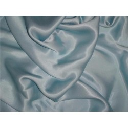 """27 momme silk reversible satin fabric pastel baby blue 44"""" wide"""