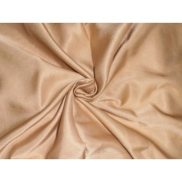 """33 momme silk  reversible satin fabric gold dust 44"""" wide"""