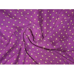 "silk chiffon polka printed dusty lavender 54"" wide"