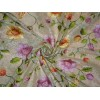 """net fabric with glitter gold and multi color heavy embroidery 44""""B2#89[3]"""