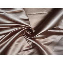 66 MOMME SILK DUTCHESS SATIN FABRIC Antique gold color 3.25yards
