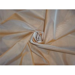 54 inch wide silk organza orange x blue