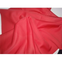 pure coral neoprene/ scuba fabric thick 59'' b2#73[6]