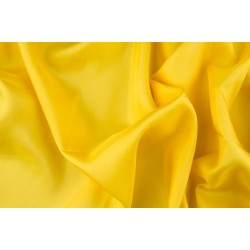 silk habotai 11 MOMME BRIGHT YELLOW COLOR 44''WIDE BY THE YARD