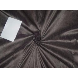 "100% PURE SILK DUPIONI FABRIC dusty dark grey 54"" mm80[1]"