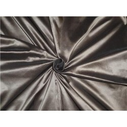 100% Silk Taffeta Fabric Hot Chocolate Brown Color 60""