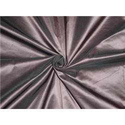 """100% Silk Taffeta Fabric Pink x Black Color 60"""" wide sold by the yard"""