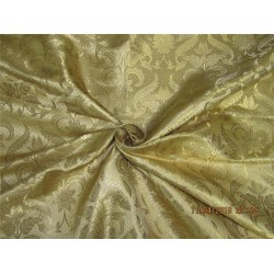 Brocade fabric gold x metallic gold 44 inches by the yard BRO577[4] by the yard