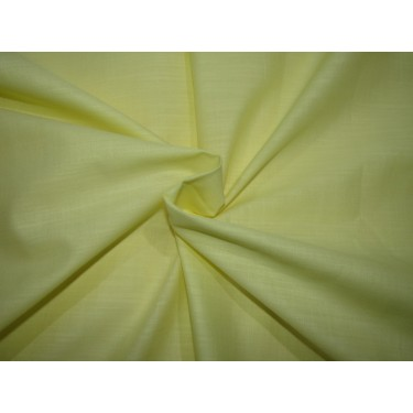 """100% COTTON FABRIC with long slubs -58"""" yellow [ RICHMAN ] by the yard id=10390"""