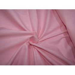 """100% COTTON FABRIC with long slubs -58"""" pink [ RICHMAN ] by the yard id=10389"""
