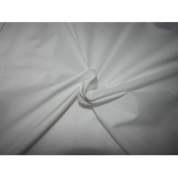 """100% COTTON FABRIC with long slubs -58"""" white [ RICHMAN ] by the yard id=10388"""