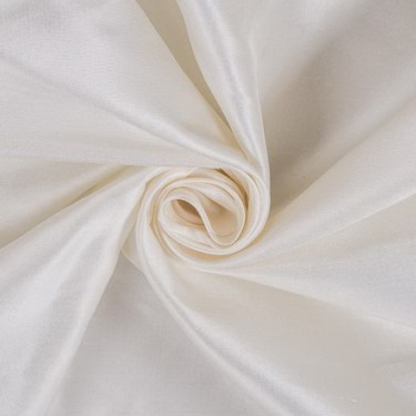 """IVORY White dupioni  44"""" best slubless chinese silk dup13[2] BY THE YARD"""