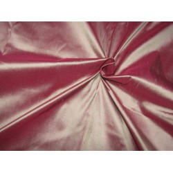 """100% Pure silk dupion   iridescent pink 54"""" DUP317[2] by the yard"""