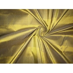 """100% silk dupion  fabric  gold x gold stripes   DUPNEWS1[5] 54"""" wide sold by the yard"""
