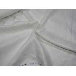 """white linen TURKISH 80 lea 58"""" wide BY THE YARD"""
