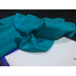 """100%  Sand wash Silk Satin fabric 44""""wide-BLUE sold by the yard"""