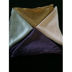 4 100% silk scarves for painting/dyeing  50 X 50 centimeters square @ 28$
