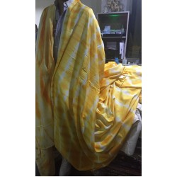 """40's x 40's tencel THE ENVIRONMENT FRIENDLY FABRIC 58"""" wide-MARBLE PRINT turmeric by the yard"""