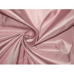"SILK TAFFETA FABRIC  ~Rose pink / blue shot TAF93[1] 54"" wide sold by the yard"