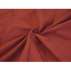 COTTON CORDUROY Fabric Cherry Red color