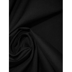 100's / 140's cotton lawn 91 cms ~Black colour