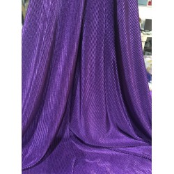 Crushed polyester satin fabric PURPLE color 59''wide FF11[15]