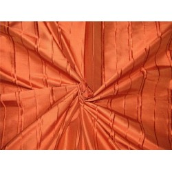 100% silk dupion stripe burnt orange 54'' wide DUPS60[4]
