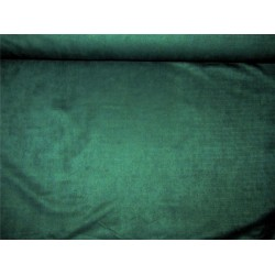 "Scuba Suede Knit fabric 59"" wide- fashion wear bottle green color #14"