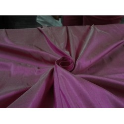 PURE SILK Dupioni FABRIC Dusty Indian PINK x Ivory STUNNING NEW COLLECTION