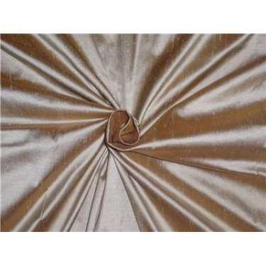 "100% Silk Dupioni fabric 60"" wide- light gold x bronze DUP235[1]"