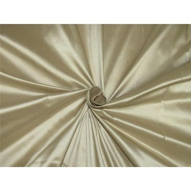 """100% pure silk Dupioni fabric beige color 54"""" wide DUP#255[4] sold by the yard"""