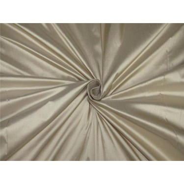 """100% pure silk Dupioni fabric beige color 54"""" wide DUP#D[2] sold by the yard"""