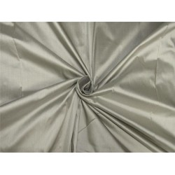 "100% pure silk dupioni fabric GREY color 54"" DUP#B[1]"