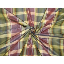 "silk taffeta fabric dark shade aubergine /green/light gold TAF#C56[2] 54"" wide sold by the yard"