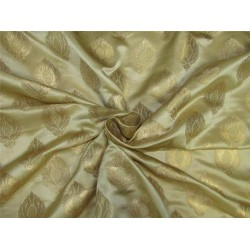 Brocade fabric gold x metallic gold color 44'' wide Bro625[1]