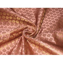 spun x polyester brocade fabric-small motifs