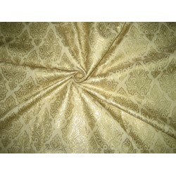 Banana fibre brocade fabric