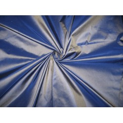 "100% Pure SILK TAFFETA FABRIC ~Frosted BlueTAF173[2] 54"" wide by the yard"