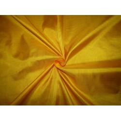 "Pure Silk Fabric, GSM: 50 Gram MARY ANN Bright Yellow 44""by the yard"