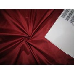"Pure Silk Fabric, GSM: 50 Gram MARY ANN Burgundy 44""by the yard"