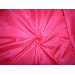 "Pure Silk Fabric, GSM: 50 Gram MARY ANN pink 44""by the yard"