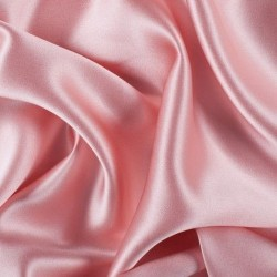 "ROSE PINK  viscose modal satin weave fabrics 44"" wide"