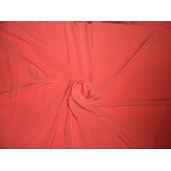 """Butter CREPE FABRIC 58""""-Craving Coral"""