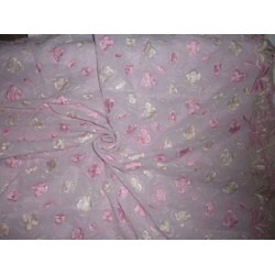 """LIGHT PINK COTTON VOILE 52""""-EMBROIDERED"""