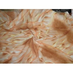 Printed voile fabric 44""